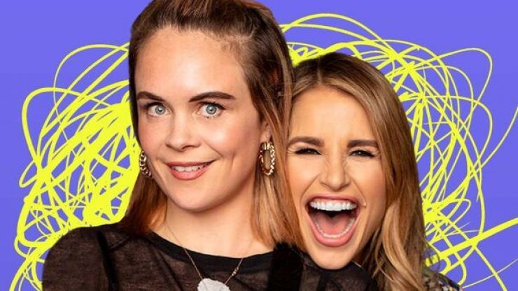 Joanne McNally reassures fans ahead of podcast break with Vogue Williams