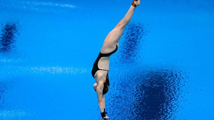 Ireland's first Olympic female diver Tanya Watson qualifies for semi-finals