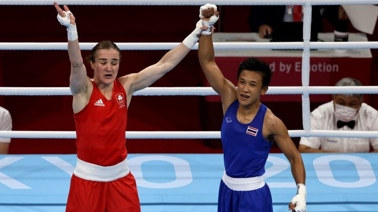 Kellie Harrington will go for gold in Olympic final