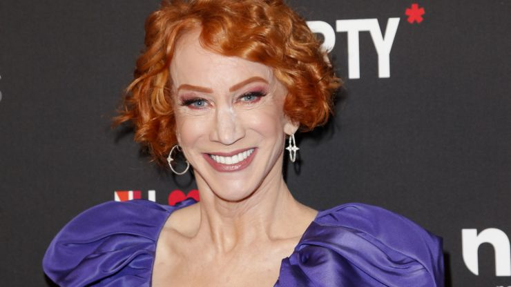 Comedian Kathy Griffin shares cancer diagnosis