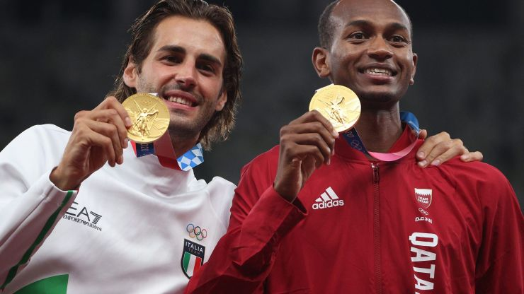 Two best friends decide to share Olympic gold medal