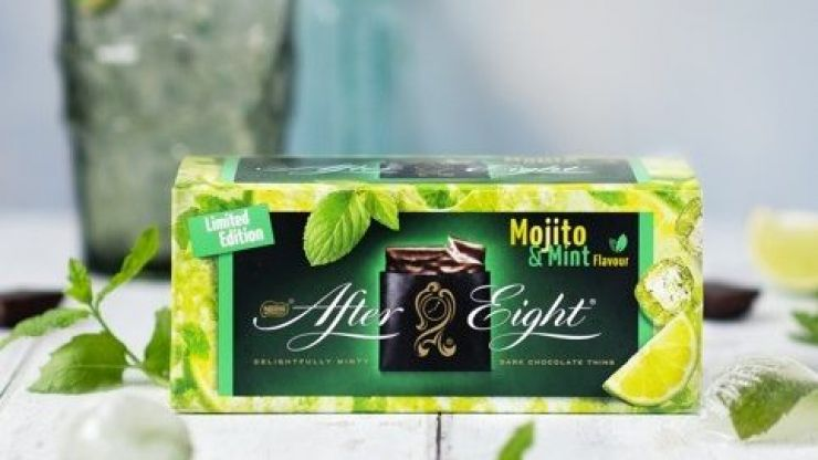 Mojito flavoured After Eights are coming to Irish shops