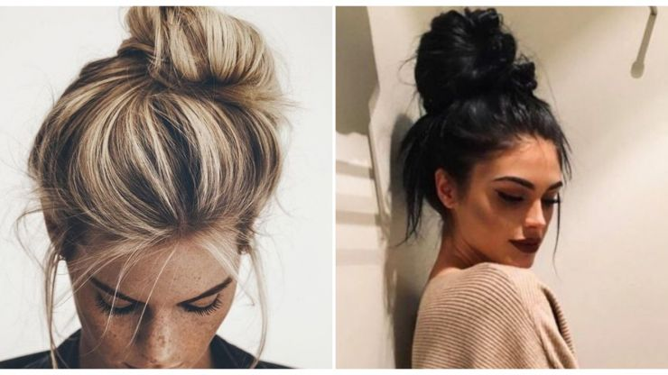 This TikTok video finally showed me how to get the perfect messy top knot every time