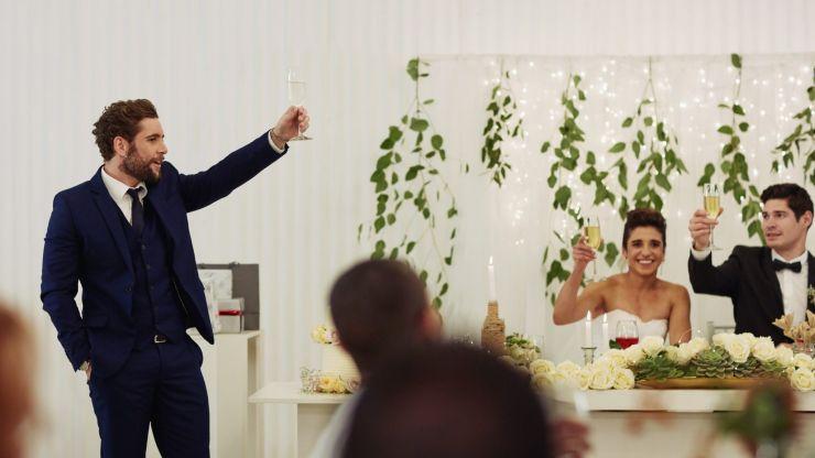 Best man ordered to leave wedding by bride after risky joke backfires