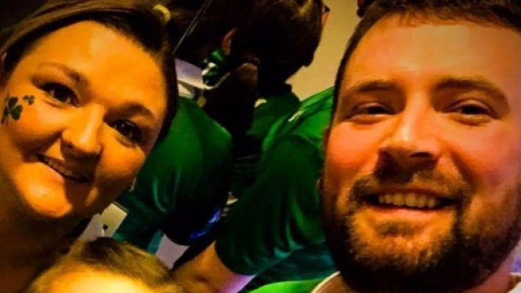 Samantha Willis' husband pays touching tribute after wife's funeral