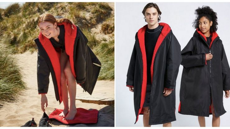 Taken up sea swimming? Dunnes Stores' sold-out Dryrobe dupe is back in stock