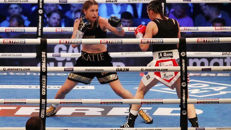 Katie Taylor reigns supreme after defending lightweight title at Leeds