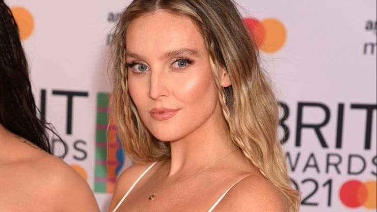 Little Mix's Perrie Edwards shares first photo of newborn son