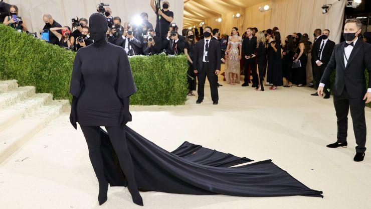 Kim Kardashian on the reason behind *that* Met Gala look
