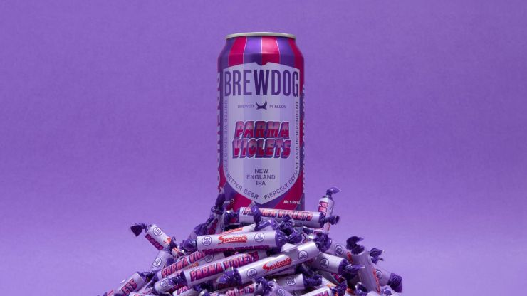 BrewDog has just launched a Parma Violets flavoured beer