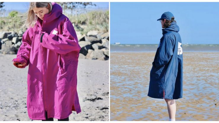 Taken up sea swimming? We found the perfect Dryrobe dupe to keep you warm this winter