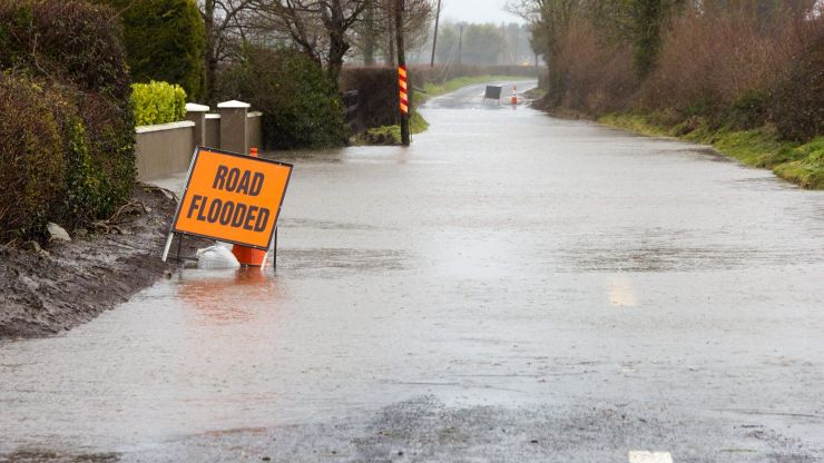 Rain weather warning issued for two counties
