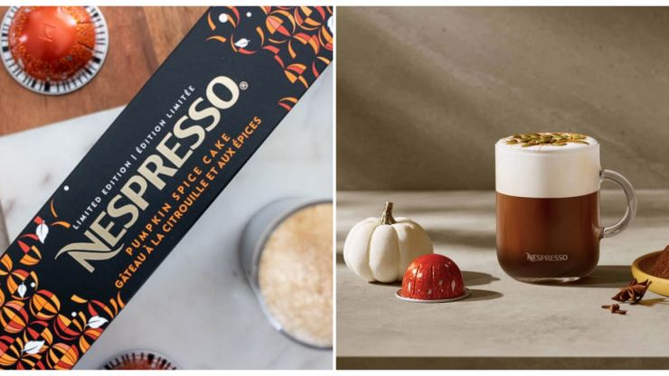 Nespresso just launched the most perfect autumn flavoured coffee capsules