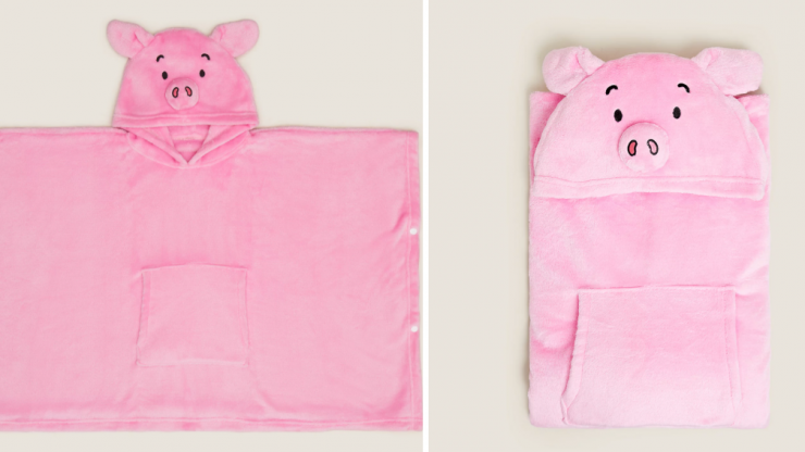 You can now get Percy Pig hooded blankets - and we need them