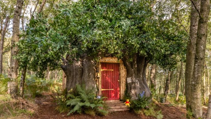 Winnie the Pooh's hundred acre wood cottage is on Airbnb now