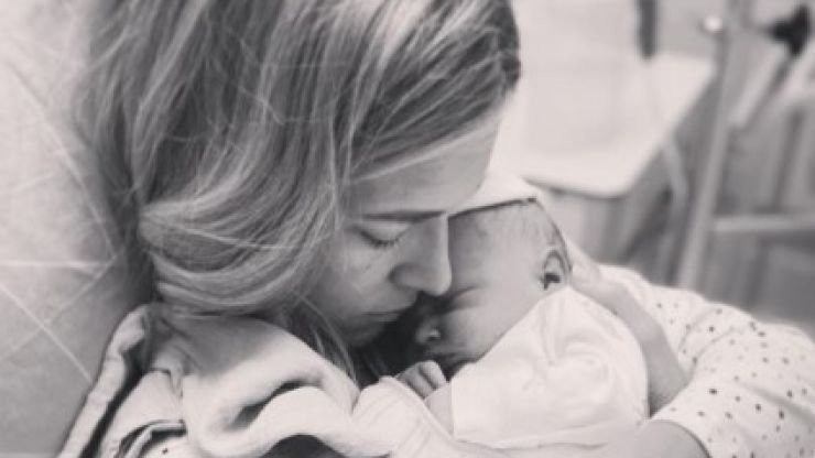 Amy de Bhrún welcomes her second baby
