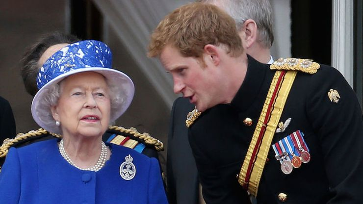 Prince Harry shows off his impression of the Queen in new documentary