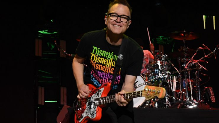 Blink-182's Mark Hoppus is now cancer-free