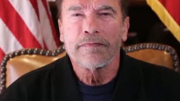 """Arnold Schwarzenegger compares rioters to Nazis, calls Trump """"worst president in history"""""""