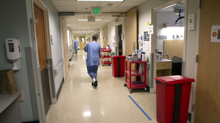 Close contact healthcare workers called back to hospitals due to shortage