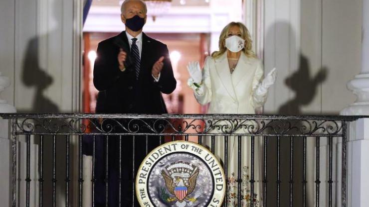 "Irish designer ""mindblown"" as Dr Jill Biden wears dress she embroidered"