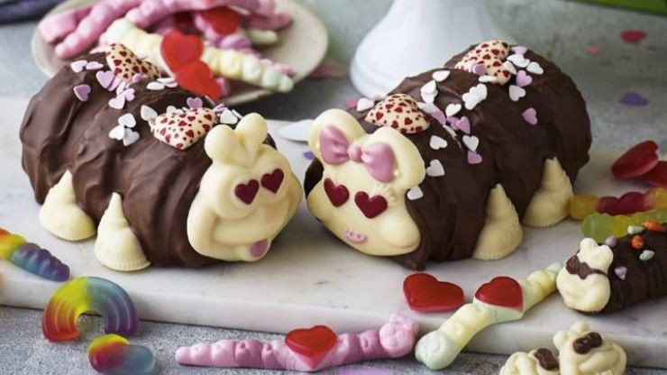M&S is selling couples Colin the Caterpillar cakes this Valentine's Day