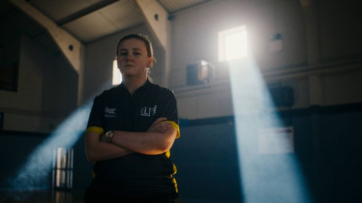A teenage Dublin girl is smashing gender stereotypes in the darts world