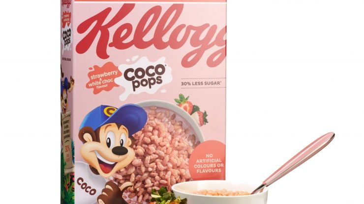 Strawberry and white chocolate Coco Pops are coming to Ireland this month