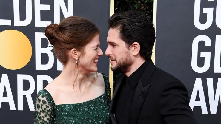 Kit Harrington and Rose Leslie welcome first child together