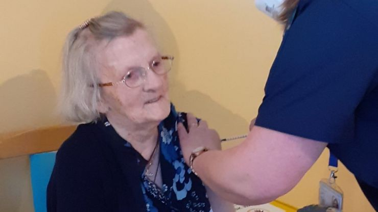 101-year-old woman is first resident to receive both vaccine doses at Cork nursing home