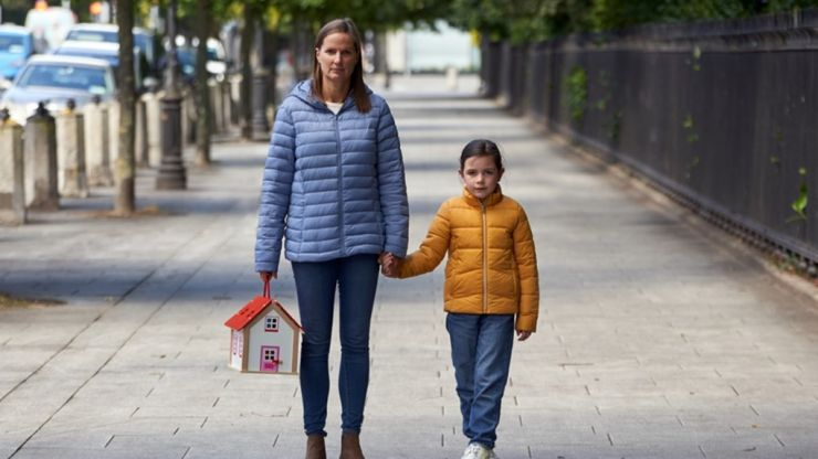 This lady's moving story really shows how homelessness affects Irish children