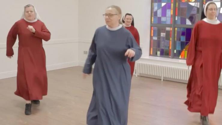 "Dublin nuns share Jerusalema dance challenge ""to cheer people up"""