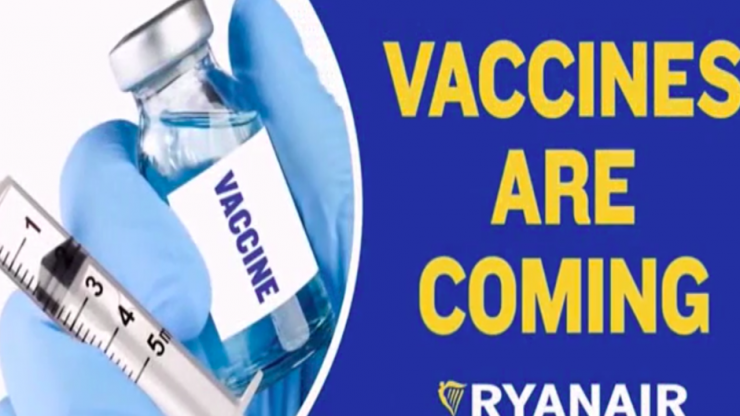 """Ryanair in breach of advertising rules over """"misleading"""" and """"offensive"""" Vax and Go ad"""