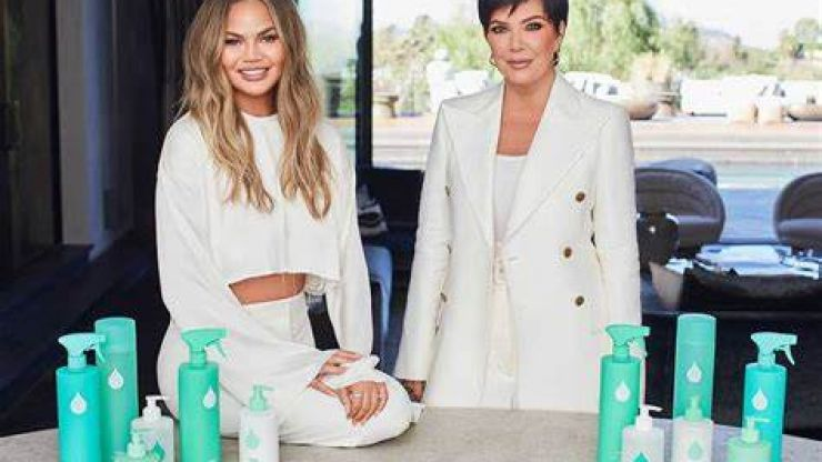 Chrissy Teigen and Kris Jenner launch new cleaning and self-care line