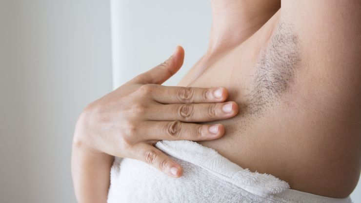68% of women are embarrassed by their underarm appearance