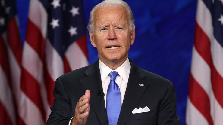 "Joe Biden says his ancestors left Ireland ""because of what the Brits had been doing"""