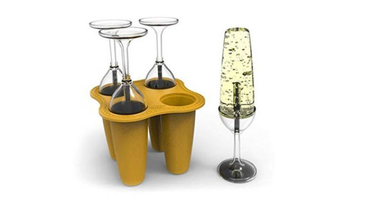 Prosecco popsicle moulds exist, and cheers, we'll take 12