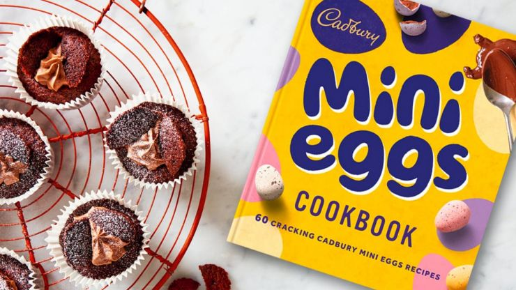 Cadbury has released a Mini Eggs cookbook - and here are the recipes we are dying to try
