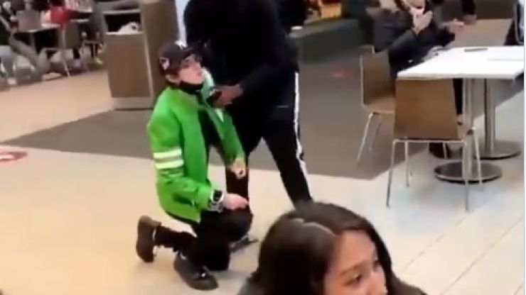 TikTok star goes after viral after shopping centre marriage proposal rejected