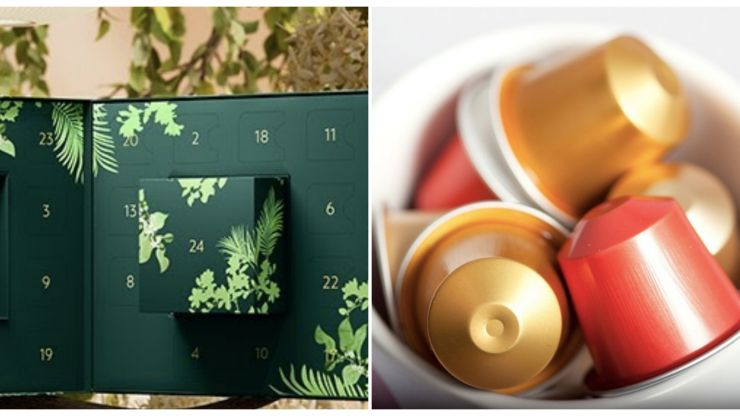Nespresso has just launched an advent calendar perfect for coffee connoisseurs