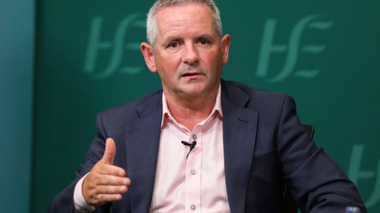 """HSE chief Paul Reid says it's """"time to hit the reset button"""" as hospitals battle Covid surge"""