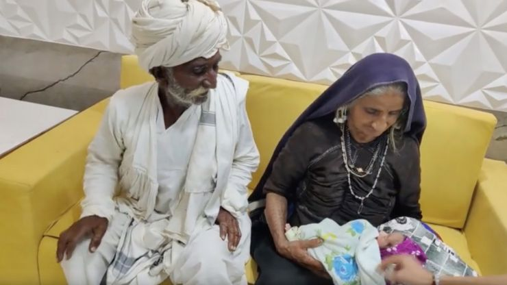 70-year-old woman reportedly becomes first-time mum after welcoming baby boy