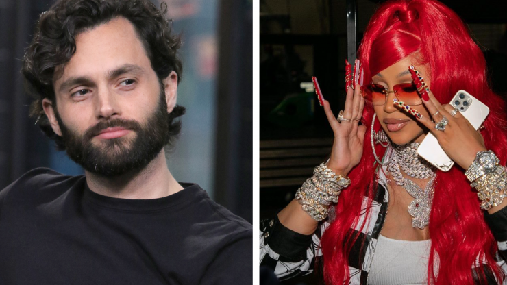 You's Penn Badgley and Cardi B are fangirling over each other on Twitter