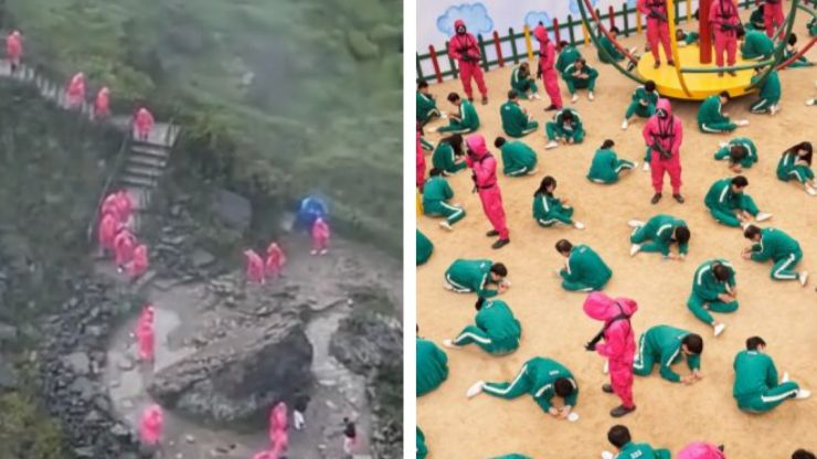 Squid Game fans mistake Niagra Falls footage for season 2 film set