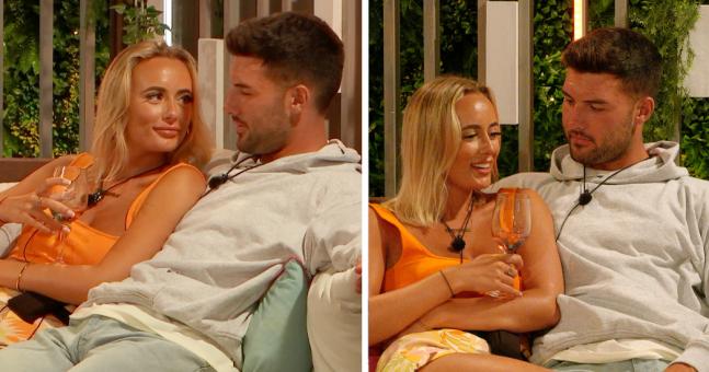 Love Island followers spot Millie and Liam doing similar bizarre gesture in mattress   Her.ie