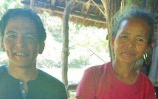 Irishman finds long lost Mum in a rural Nepal village