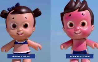 This (scary-looking) doll has sunburn to help teach kids an important lesson