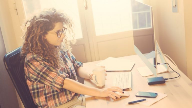 Why working from home is the business: Office Mum Diarist spills