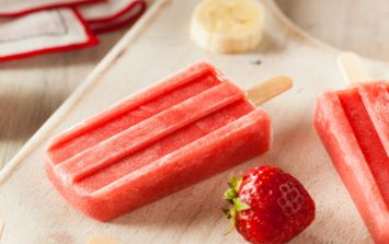 3 soothing homemade ice lollies for teething tots... whatever the weather