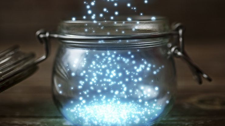 Fairies in a jar: the cutest indoor activity we have ever played